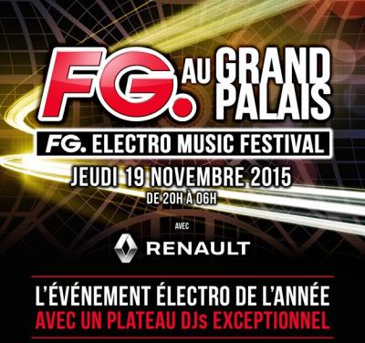 Soirée FG au Grand Palais le 19 novembre 2015