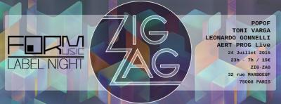 Form au Zig Zag Club avec Popof et Toni Varga