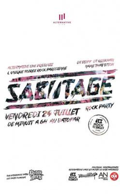 Sabotage Rock Party au Batofar avec Rockurlife
