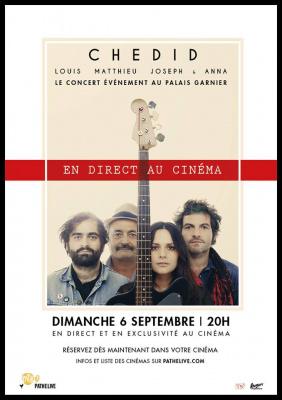La Famille Chedid en concert au Palais Garnier : retransmission en direct au cinéma