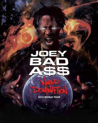 Joey Badass en concert au Bataclan de Paris en novembre 2015