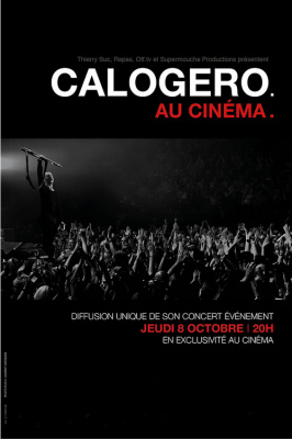 Calogero : Les Feux d'Artifice au cinéma