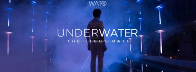 Underwater 3 by WATO : The Light Bath à la piscine Pailleron