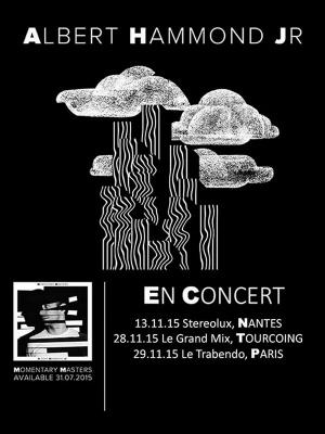 Albert Hammond JR en concert au Trabendo de Paris