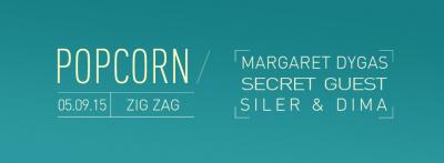 Popcorn au Zig Zag Club avec Margaret Dygas
