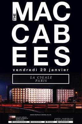 The Maccabees en concert à La Cigale de Paris en 2016