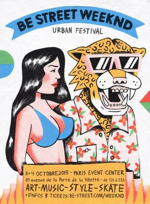 Be Street Weeknd 2015 : Urban Festival au Paris Event Center