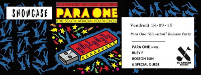 Para One Release Party au Showcase