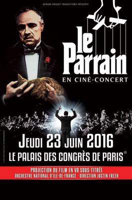 Le Parrain en ciné-concert au Palais des Congrès de Paris en 2016
