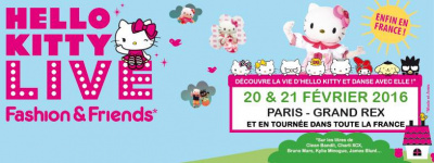 Hello Kitty Live au Grand Rex en 2016