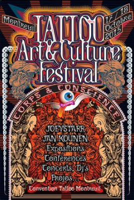 Tattoo Art & Culture Festival : Convention de Tatouage 2015 à Montreuil
