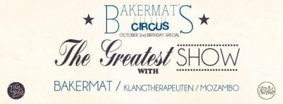 Bakermat's Circus au Zig Zag Club