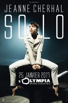 Jeanne Cherhal en concert à l'Olympia de Paris en 2017