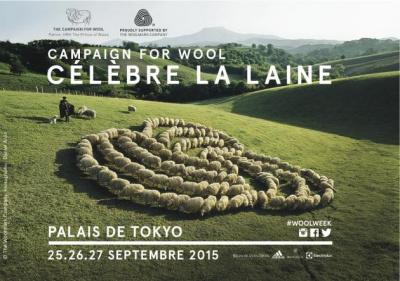 """""""Campaign for Wool"""" célèbre la Laine au Palais de Tokyo"""