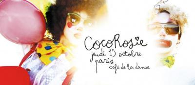 CocoRosie en concert au Café de La Danse en octobre 2015