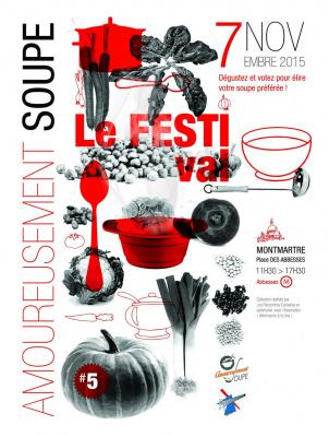 Amoureusement Soupe 2015 : le festival de la soupe à Paris