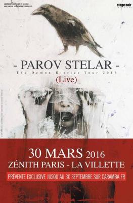 Parov Stelar en concert au Zénith de Paris en 2016