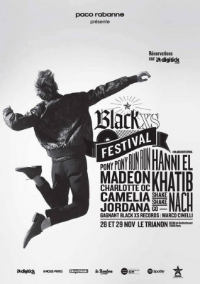 Black XS Festival 2015 au Trianon de Paris : dates, programmation et réservations