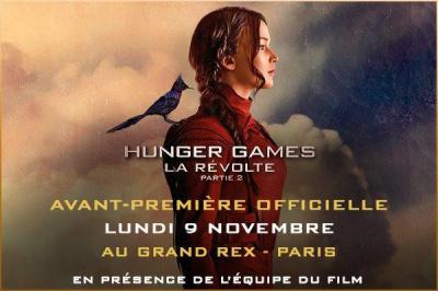 Hunger Games : La Révolte Partie 2 en avant-première officielle au Grand Rex de Paris