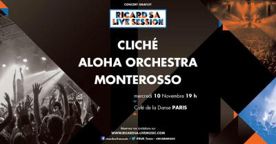 Ricard S.A Live Music : nouvelle soirée de concerts gratuits au Café de La Danse