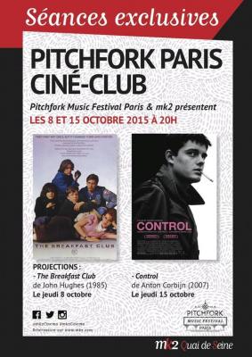 Pitchfork Paris Ciné-Club 2015 au MK2 Quai de Seine