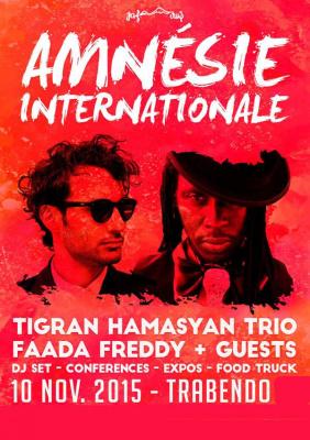 Festival Amnésie Internationale 2015 au Trabendo de Paris