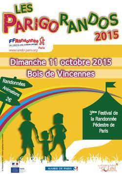 Les Parigorandos 2015 au Bois de Vincennes