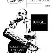 Free Your Funk à La Bellevilloise : Dam-Funk Full Live Band + Jungle DJ Set