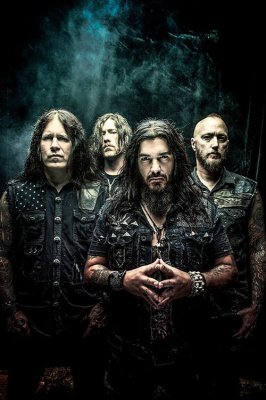 Machine Head en concert au Bataclan de Paris en 2016