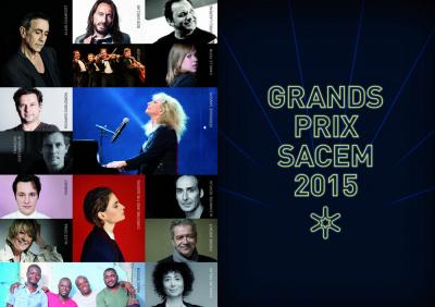 Grands Prix de la SACEM : les lauréats 2015