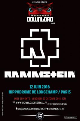 Download Festival 2016 à Paris : Rammstein en concert à l'Hippodrome de Longchamp