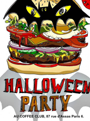 Halloween Party au Coffee Club