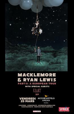 Macklemore & Ryan Lewis en concert à l'AccorHotels Arena de Paris en 2016