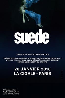 Suede en concert à La Cigale de Paris en 2016
