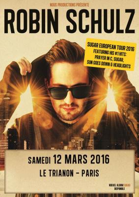 Robin Schulz en concert au Trianon de Paris en 2016