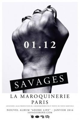Savages en concert intimiste à La Maroquinerie de Paris