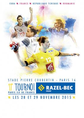 Tournoi Razel-BEC Paris île de France 2015 au Stade Pierre de Coubertin