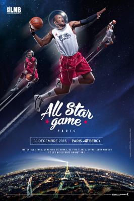 All Star Game 2015 à l'AccorHotels Arena de Paris