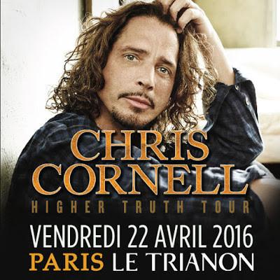 Chris Cornell en concert au Trianon de Paris en 2016