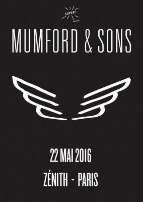 Mumford & Sons en concert au Zénith de Paris en 2016