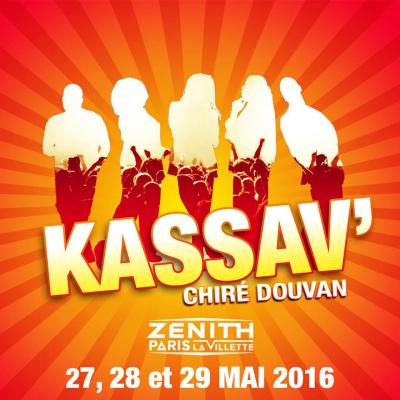 Kassav' en concerts au Zénith de Paris en 2016