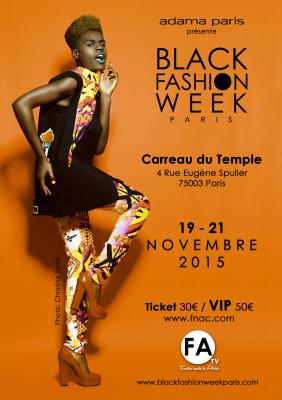 Black Fashion Week Paris 2015 au Carreau Du Temple