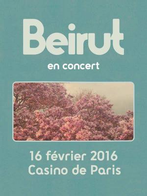 Beirut en concert au Casino de Paris en 2016