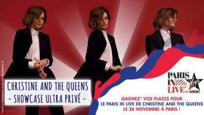 Paris in Live : Christine and the Queens en concert privé à Paris, gagne ta place !