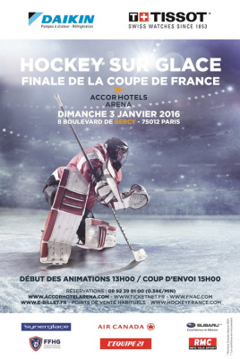 Finale de la coupe de france de hockey 2016 l accorhotels arena de paris - Final coupe de france hockey 2015 ...