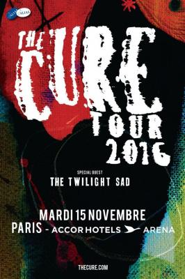 The Cure en concert à l'AccorHotels Arena de Paris en 2016