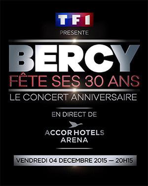 Bercy fête ses 30 ans à l'AccorHotels Arena de Paris
