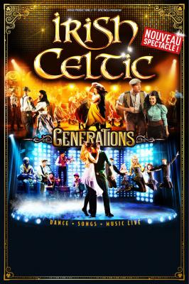 Irish Celtic Generations au Palais des Sports de Paris en 2016