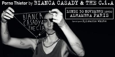 Bianca Casady & The C.i.A en concert à l'Alhambra de Paris