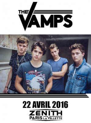 The Vamps en concert au Zénith de Paris en 2016